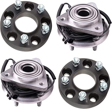 2pcs FRONT Wheel Hub and Bearing Assembly for JEEP LIBERTY 2008-2012