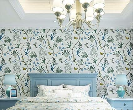 chinoiserie tapete schlafzimmer wandverkleidung moderne ...