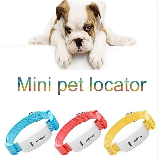 ZHENGDY Mini Localizador GPS para Perros Perros Y Gatos ...
