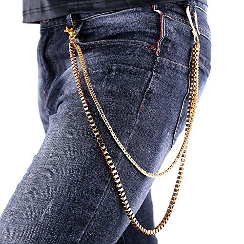 U7 Snake Chain Trouser Wallet