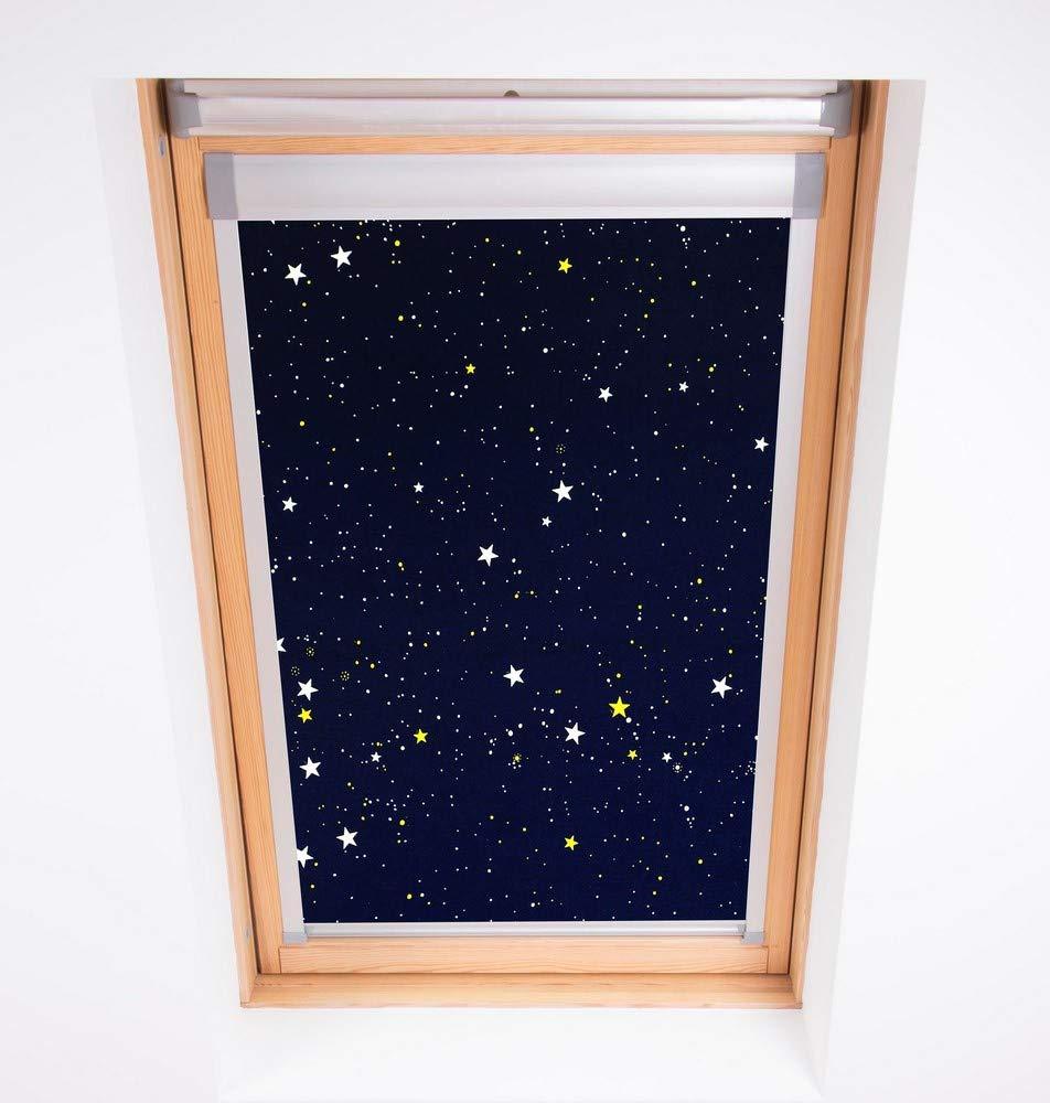 Bloc Jalousien Skylight Skylight Skylight schwarzout Blind, Polyester, Marineblau B01FR1U48E Jalousien b17e35