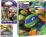 TMNT Snacks Teenage Mutant Ninja Turtles 10 Pk Assorted Fruit Flavors + Half Shell Heroes Activity Book & Super stickers Treat Pack