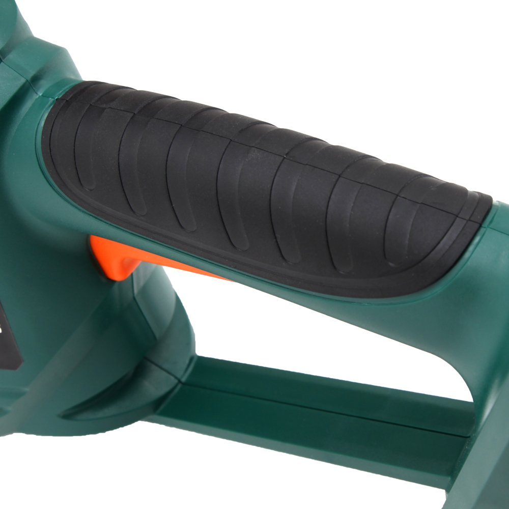 """DOEWORKS 20V Li-ion Battery Cordless Electric Hedge Trimmer, 20"""" Dual Steel Blades, Battery & Charger Included"""
