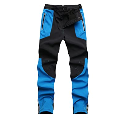 93d036a8ca Gorgerous Women Fleeced Snow Hiking Pants Water Repellent Windproof Outdoor  Sports Softshell Winter Pants(S