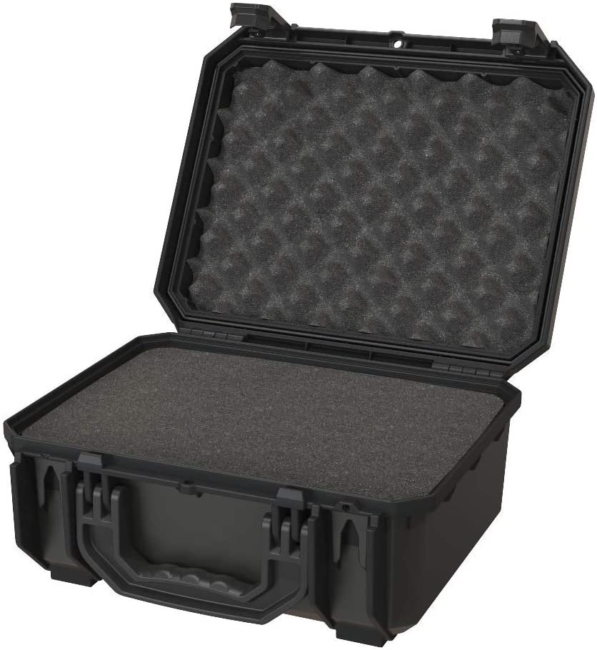 Seahorse 530 Protective Case with Foam, Black