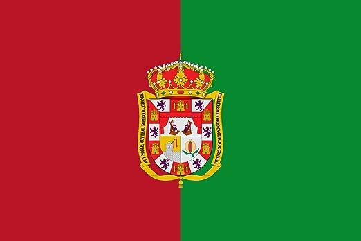 magFlags Bandera Large Provincia de Granada Andalucía   Bandera Paisaje   1.35m²   90x150cm: Amazon.es: Jardín
