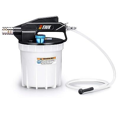 EWK 2 Liters Pneumatic Brake Bleeder Kit Vacuum Brake Bleeder Oil Fluid Extractor Pump: Automotive