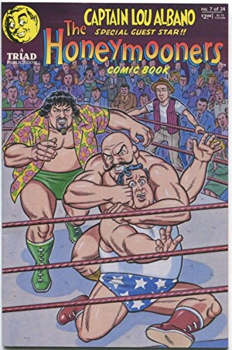 THE HONEYMOONERS #7, VF/NM, Ralph Kramden, Wrestling, Triad, 1988 more in -