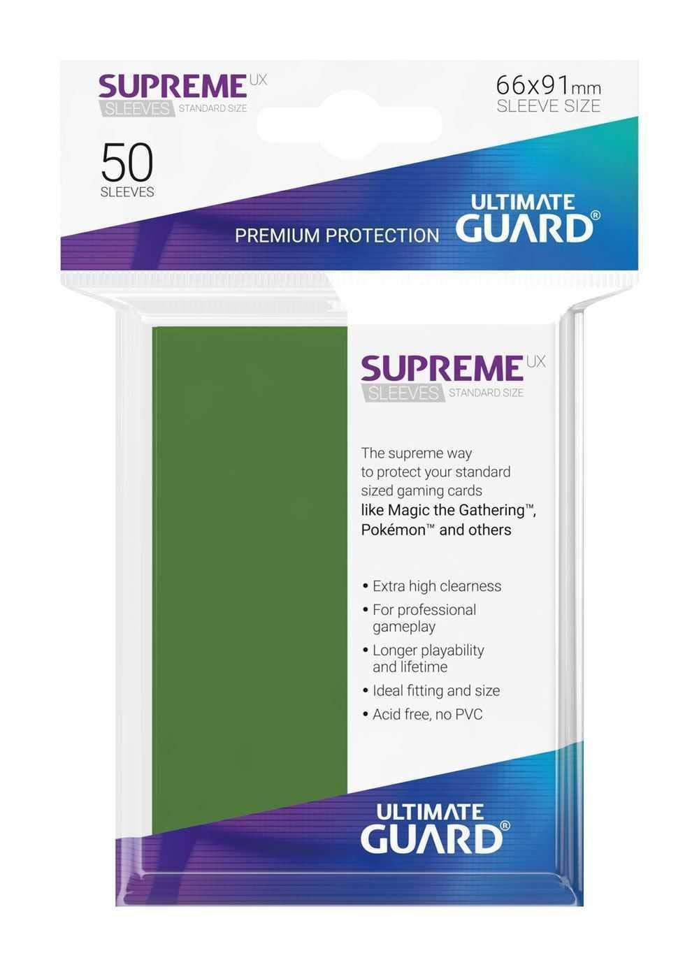 Ultimate Guard- Mangas Juego de Cartas, Color Negro ...