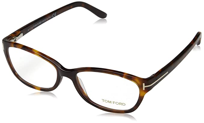 723c2a391bb Amazon.com  Tom Ford Glasses 052 052 5142 Cats Eyes Sunglasses  Clothing