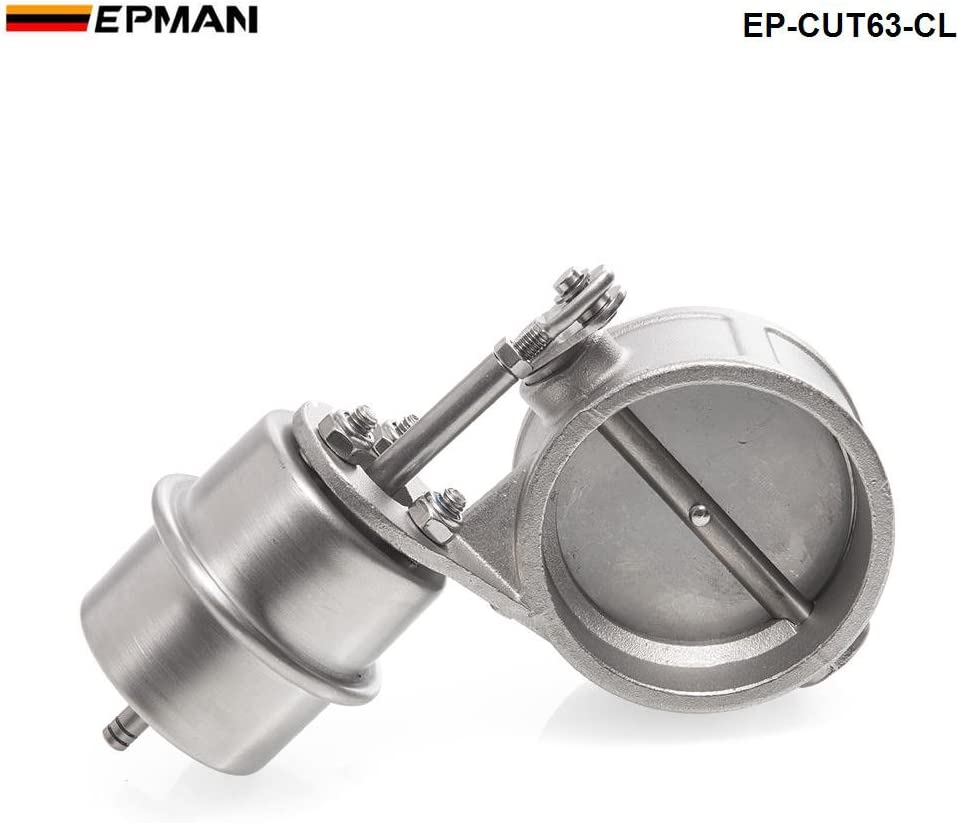 2.5/'/' 63mm Vacuum Activated Exhaust Cutout Valve Close Style Pressure About 1Bar