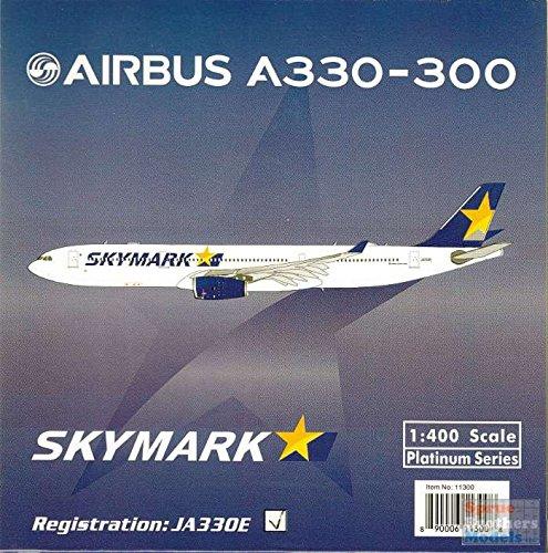 - PHX1514 1:400 Phoenix Model Skymark Airbus A330-300 REG #JA330D (pre-painted/pre-built)
