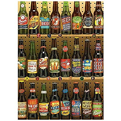 Cobblehill 80082 1000 Pc Beer Collection Puzzle Vari