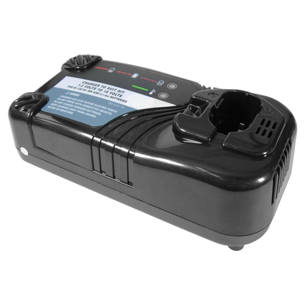 Akku Ladegerät 7,2V-18V Ladestation für Hitachi DS12DVF3 DS14DAF2 DS14DFL