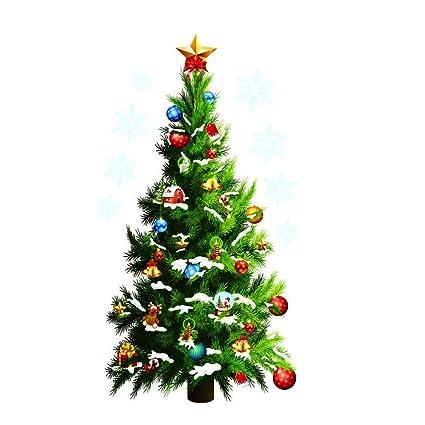 DierCosy Merry Christmas Home Decor Vinyl Wall Sticker Christmas ...