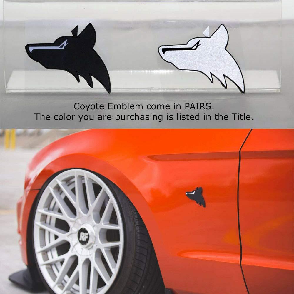 Amazon Com Pair Coyote Emblem Mustang Gt 5 0 Emblem