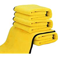 Dry Towel for Cars, (4 Pack) Microfiber Extra Thick Cleaning Cloths,Car Drying Towel Scratch-Free Car Detailing Buffing…