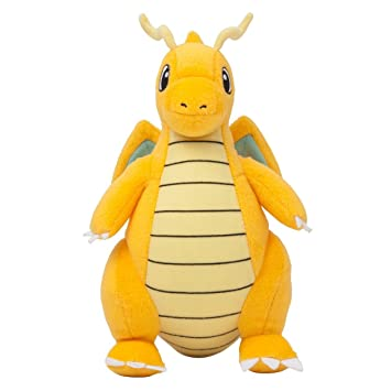 POKEMON - DRAGONITE - PELUCHE DRAGONITE / DRAGONITE PLUSH TOY 23cm / 9""