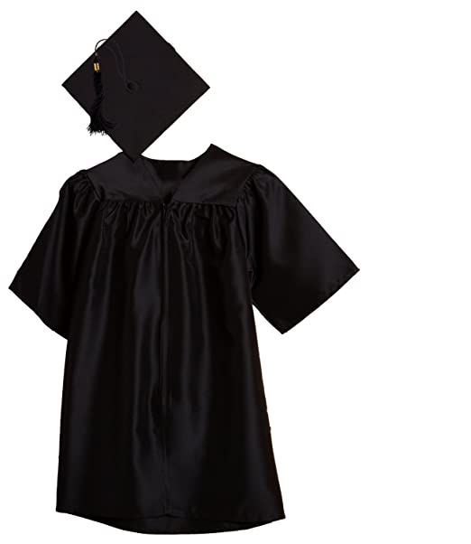 ba3a48d5c66 Amazon.com  Jostens Child Size Graduation Cap And Gown Package  Clothing