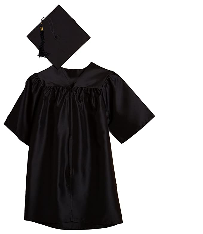 Amazoncom Jostens Child Size Graduation Cap And Gown Package Clothing