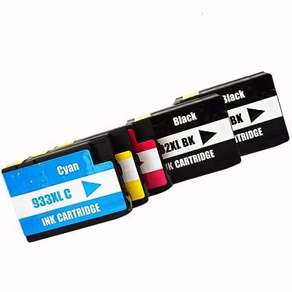 colour-store 5 unidades de repuesto para HP 932 X L 933 X L 932 ...