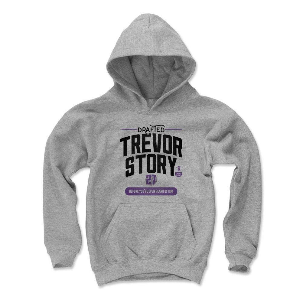 Trevor Story Before 500 LEVEL Fantasy Baseball Kids Hoodie