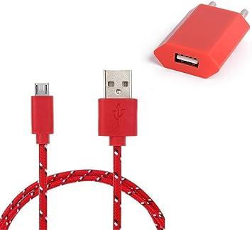 Pack Cargador para Samsung Galaxy S4 Mini Smartphone Micro USB ...