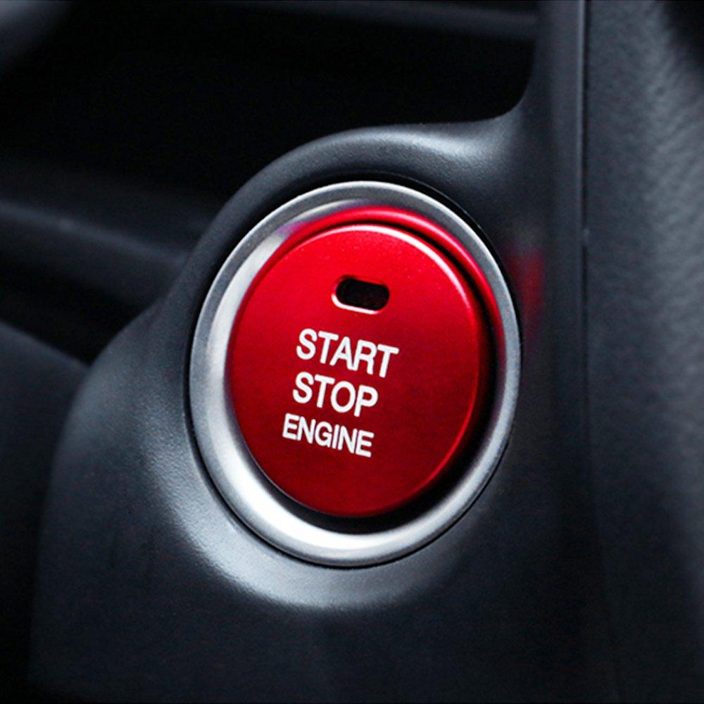 Auto Start motore pulsante sostituire di arresto interruttore a chiave accessori decorazione TOPDECO
