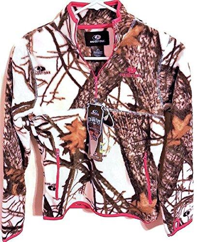 Mossy Oak Girls Lg 1/4 Zip Fleece Jacket - Mossy Oak Kids Jacket Shopping Results