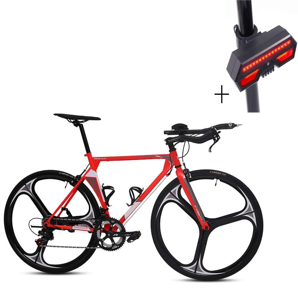 自転車、ロードバイク、溶接壊れた風フロントフォーク、アルミ合金ホイール、ノンスリップ耐摩耗タイヤ、ギフト自転車のターンシグナル   B07H1GLRVK