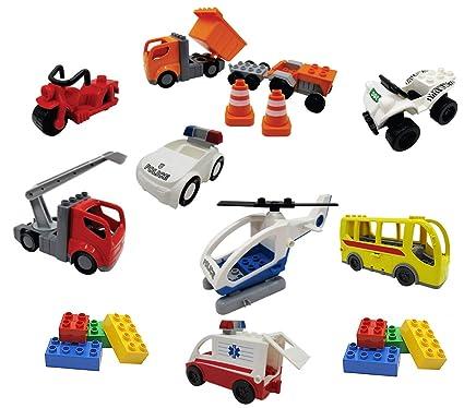 Amazon.com: Juguetes para niños, vehículos de emergencia de ...