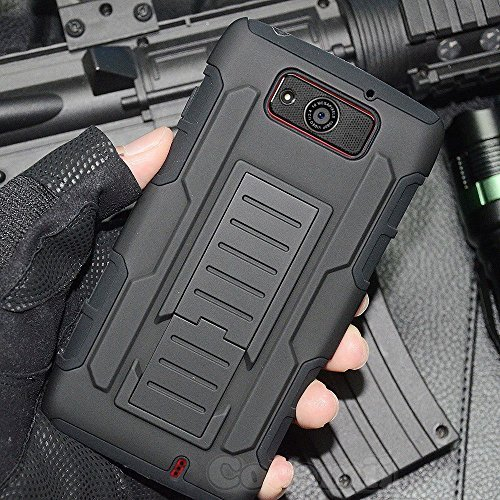 Cocomii Robot Armor Motorola Droid Maxx/Droid Ultra Case New [Heavy Duty] Premium Belt Clip Holster Kickstand Shockproof Bumper [Military Defender] Full Body Rugged Cover for Droid Maxx - Maxx Phone Droid Case