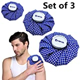 Ice Bag Therapy Hot Cold Great for Head Shoulder Neck Back Knee Shin Ankle, ...
