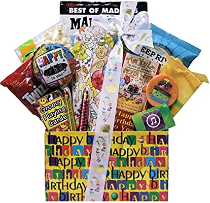 Amazon Great Arrivals Kids Teen Birthday Gift Basket Ages 13