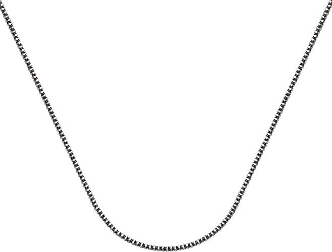 """3.5 grams 1.7mm 925 SOLID SILVER 20/"""" FIGARO CHAIN"""