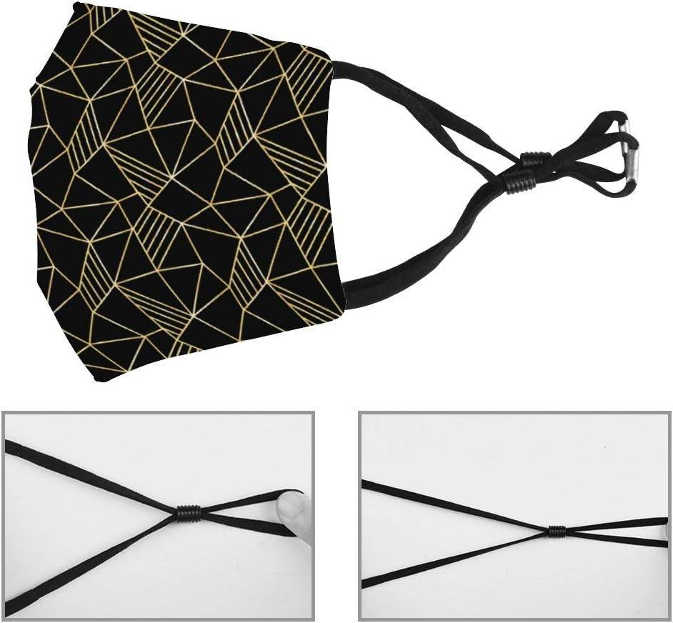 Mugsan Lavable Rempla/çable R/églable Housse de protection anti-poussi/ère en polyester Motif g/éom/étrique abstrait