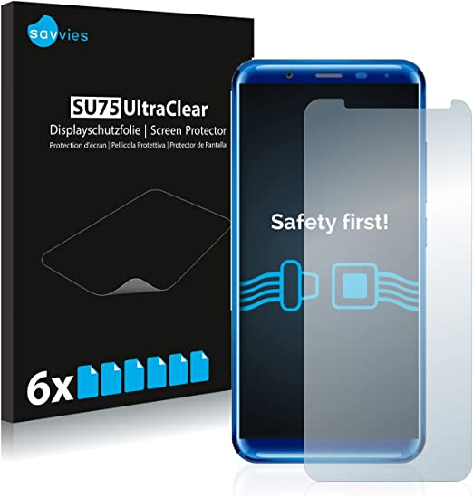 savvies Protector Pantalla Compatible con Oukitel K5000 (6 Unidades) Pelicula Ultra Transparente: Amazon.es: Electrónica