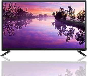 Televisor LCD de 32 pulgadas,1366 * 768 HDR Antena USB/HDMI/RF/AV/RJ45 Pantalla de televisión inteligente para el hogar con función de esquema de procesamiento de reducción de ruido de imagen(UE): Amazon.es: Electrónica