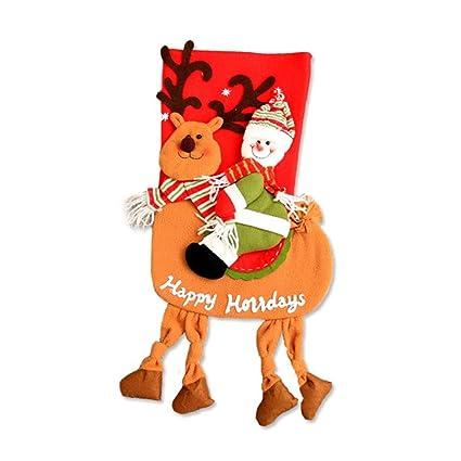 Calcetines de Navidad bolsa de regalo de árbol de Navidad decoración Caramelos Bolsa De Regalo Creativo