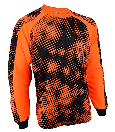 Vizari Youth Polaris GK Jersey, Orange/Black, Large
