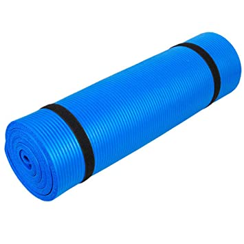 Amazon.com: Boon Earthie Blue Thick 10mm Floor Exercise nbr ...
