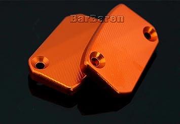 barbaren 2 Stk. Tapa para depósito de líquido de frenos embrague flüss funcionalidad Depósito Link