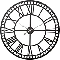 Wall Clock Extra Large 3D Modern Silent No Ticking Movements Home Office Decor