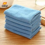 5PCS/Lot Absorbent Microfiber Towel Kitchen Cleaner Wipping Rags Cleaning Cloth Bath Dust Face