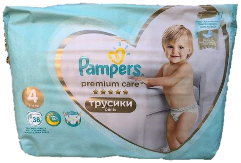 NEU 38 PAMPERS PREMIUM CARE PANTS GR 9-15 KG 4