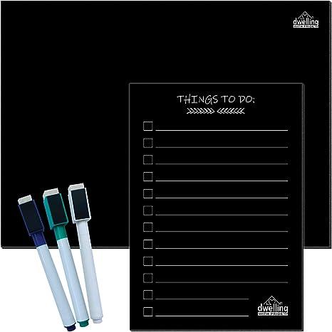 Amazon.com: Pizarra blanca magnética para refrigerador ...