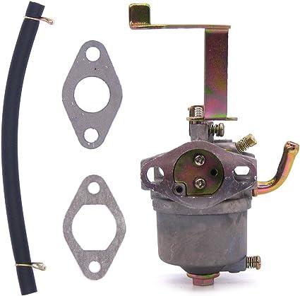 HURI Carburetor with Fuel Filter for Generator Buffalo Tools Sportsman GEN1100 GEN154 2.8HP 1500 2000W