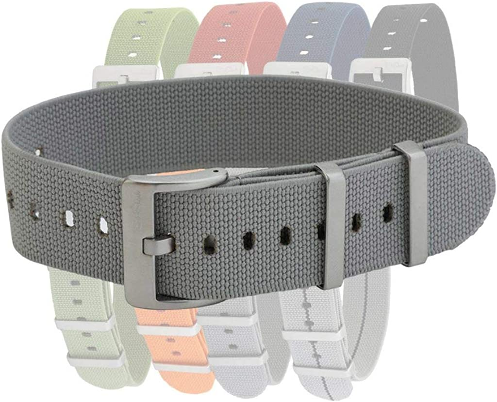 Pajama Stretch Elastic Watch Straps by BluShark Multiple Sizes and Colors