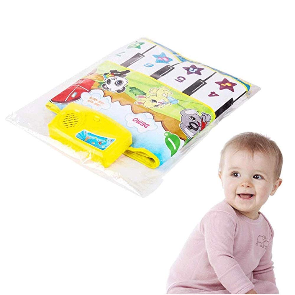 Mopoq Fresh Family Piano Mat Children's Music Mat Dance Mat Educational Toys Birthday Christmas Easter Boys And Girls Gifts Children Early Learning Puzzle Foot Steps Grand Piano Dance Mat Music Mat Pa by Mopoq (Image #5)