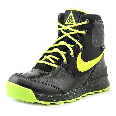 newest 89609 15f4e Kids  Grade School Nike Stasis ACG Boots, Black Volt Metallic Silver,